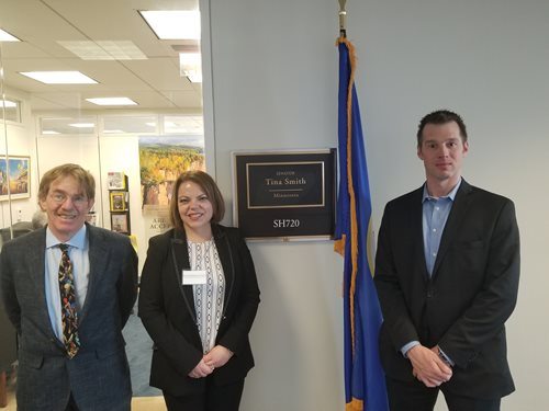 Quantum Experts Visit Capitol Hill to Advocate for NQI Funding